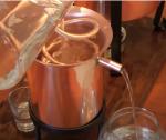 alambicco per grappa