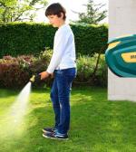avvolgitubo per acqua da giardino