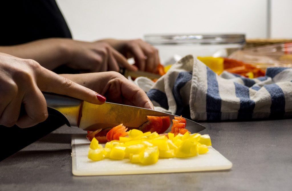 coltello affilato per cucina