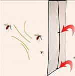 zanzariera magnetica per porta e finestra