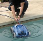 robot per piscina interrata o fuori terra